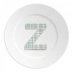 Maremonti ABC Piatto lettera Z verde