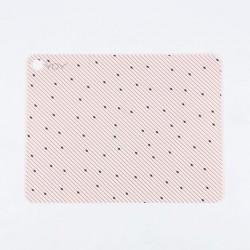 Set 2 tovagliette rosa chiaro