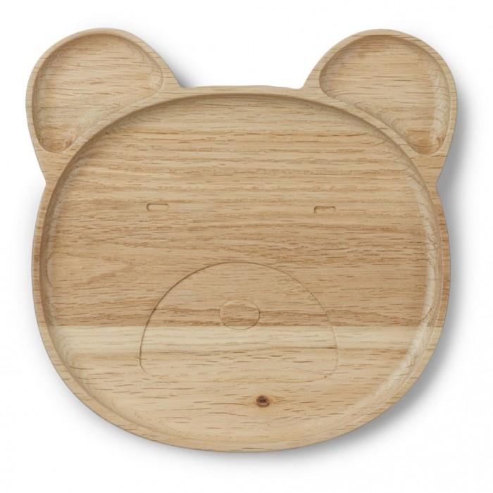 Piatto in legno Orso Liewood