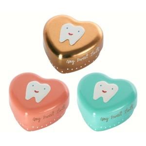 Scatolina dei dentini in metallo - vari colori Maileg