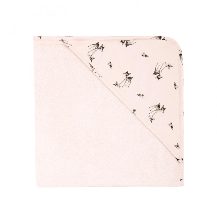 Accappatoio triangolo Colette rosa chiaro Rose in April