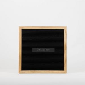 Letter Board 30x30 nera
