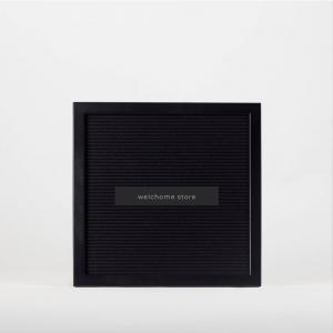 Letter Board 30x30 cornice nera