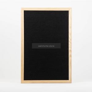 Letter Board 30x45 nera
