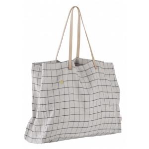 Shopping bag maxi Oscar fleur de sel