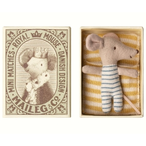 Baby topino con scatolina Maileg