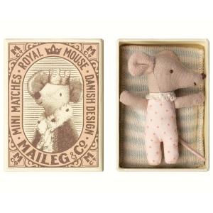 Baby topina con scatolina Maileg