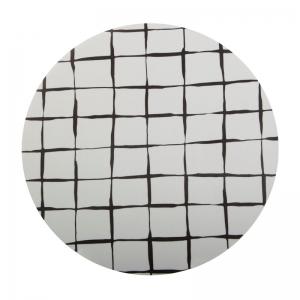 Sottopentola griglia black&white