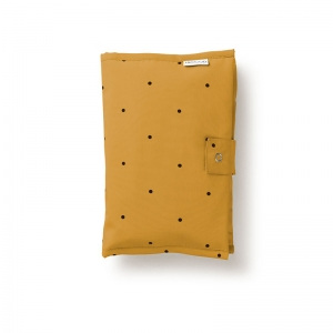 Porta pannolini mostarda dots
