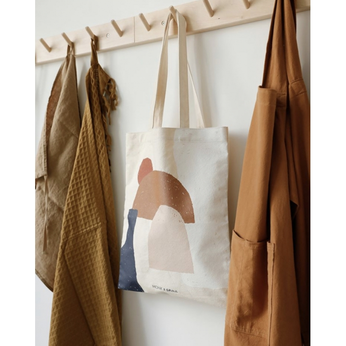 Totebag Shapes Monk & Anna
