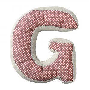Cuscino lettera G