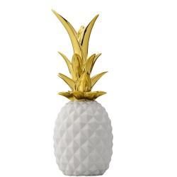 Ananas bianco/ oro