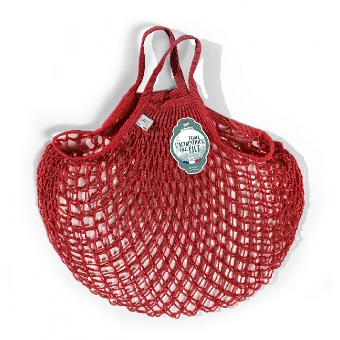 Net Bag a mano rossa