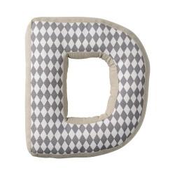 Cuscino lettera D