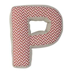 Cuscino lettera P