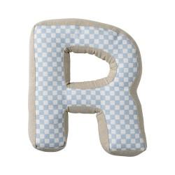 Cuscino lettera R