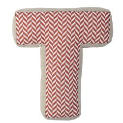 Cuscino lettera T