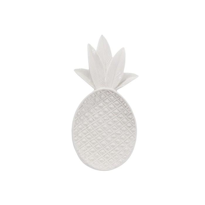 Piattino ananas bianco