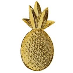 Piattino ananas oro
