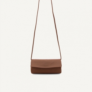 Jugoya full moonbag chestnut