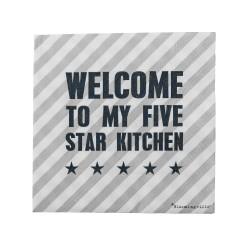 "Tovaglioli ""Cucina 5 stelle"""