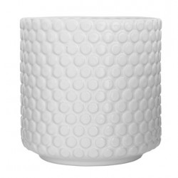 Vaso bubble bianco