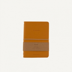 Notebook in ecopelle honey