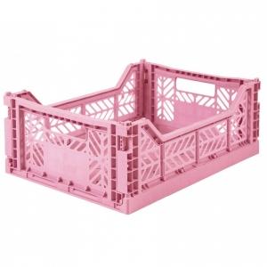 Cassetta pieghevole Baby Pink Midi