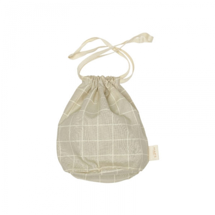 Multibag small check Oyster