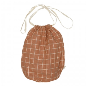Multibag big check Terracotta