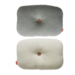 Cuscino Bumble panna/ grigio