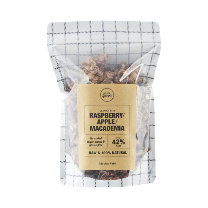 Granola - Lampone, mela e macadamia