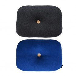 Cuscino Bumble bluette/ nero