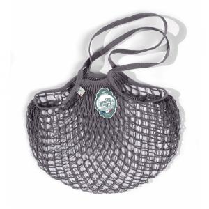 Net Bag a spalla grigio scuro