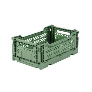 Cassetta pieghevole Almond green Mini