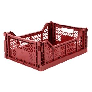 Cassetta pieghevole Tile red Midi