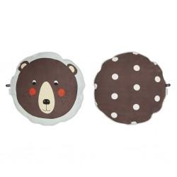 Cuscino circolare orso