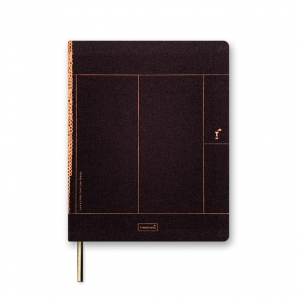 Notebook A5 Chocolate