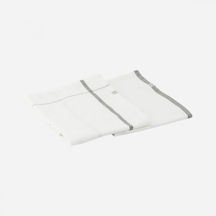 Set 2 tea towel Halida army green