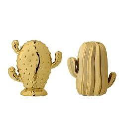 Set 2 cactus oro