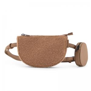 Marsupio Toho wool cacao