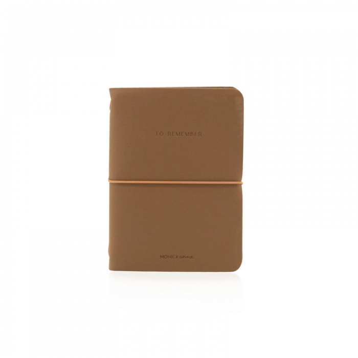 .Notebook in ecopelle cacao