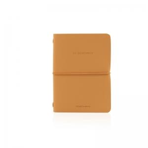 Notebook in ecopelle cashew