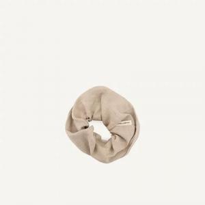 Scrunchie sea shell Monk & Anna elastico per capelli in lino