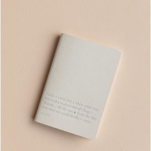 Note Booklet Cloud dancer