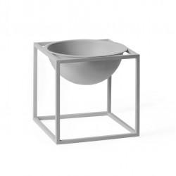 Kubus Bowl small grigio by Lassen