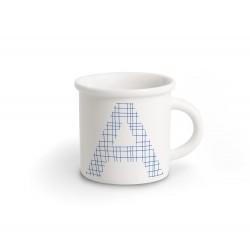 ABC Mug lettera A blu