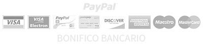 PayPal e Bonifico Bancario